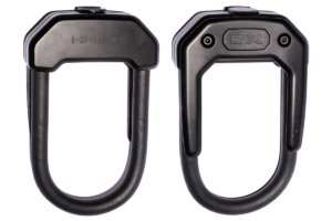 Black Hiplok Hardened Steel Gold Secure Bike Lock