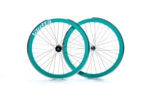 Turquoise 40mm Deep-V Wheelset