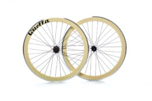 Cream 40mm Deep-V Wheelset