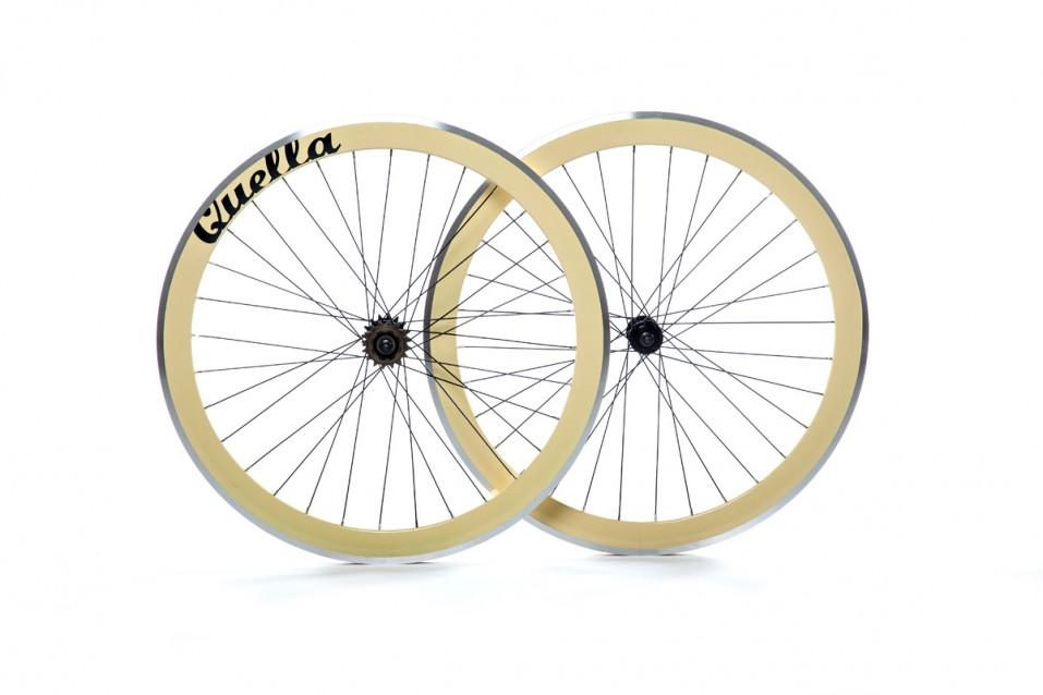 Cream 40mm Deep-V Wheelset