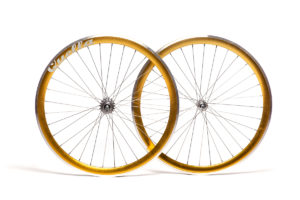 Quella Gold 40mm Deep-V 700c Wheelset