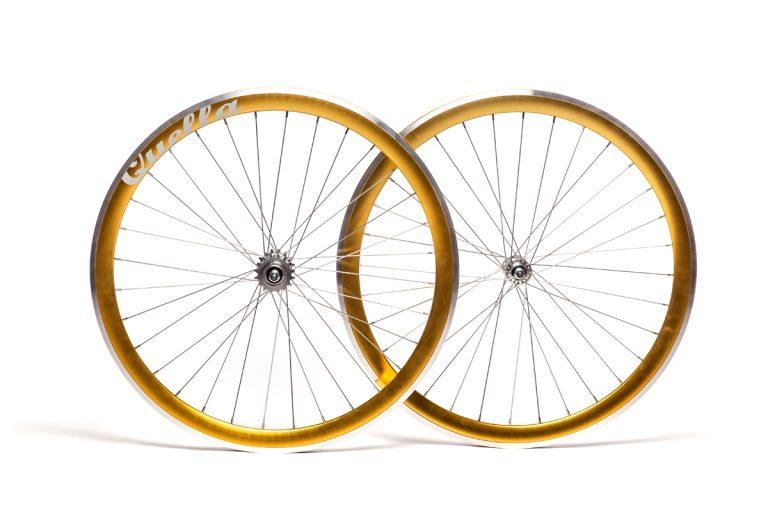 Quella Gold 40mm Deep-V 700c Wheelset