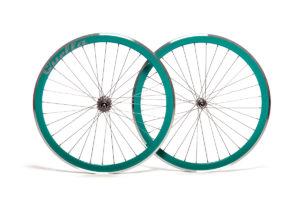 Quella Turquoise 40mm Deep-V 700c Wheelset