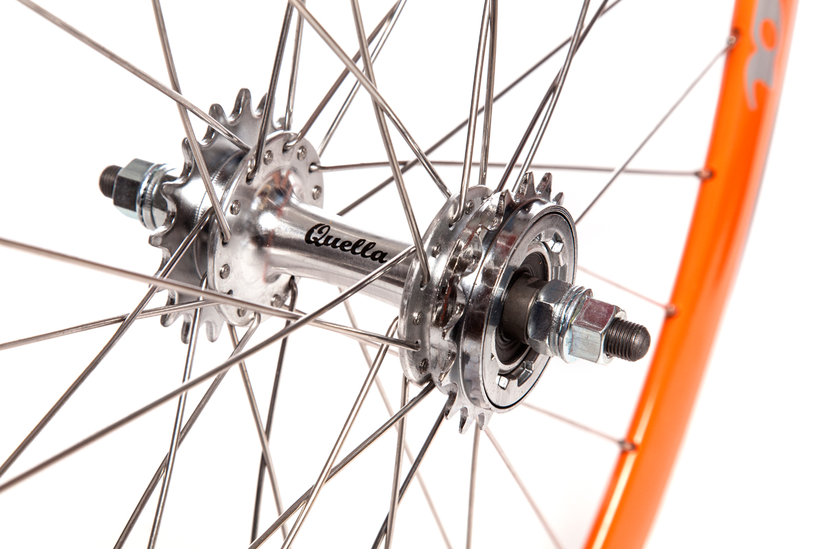 Orange Wheelset