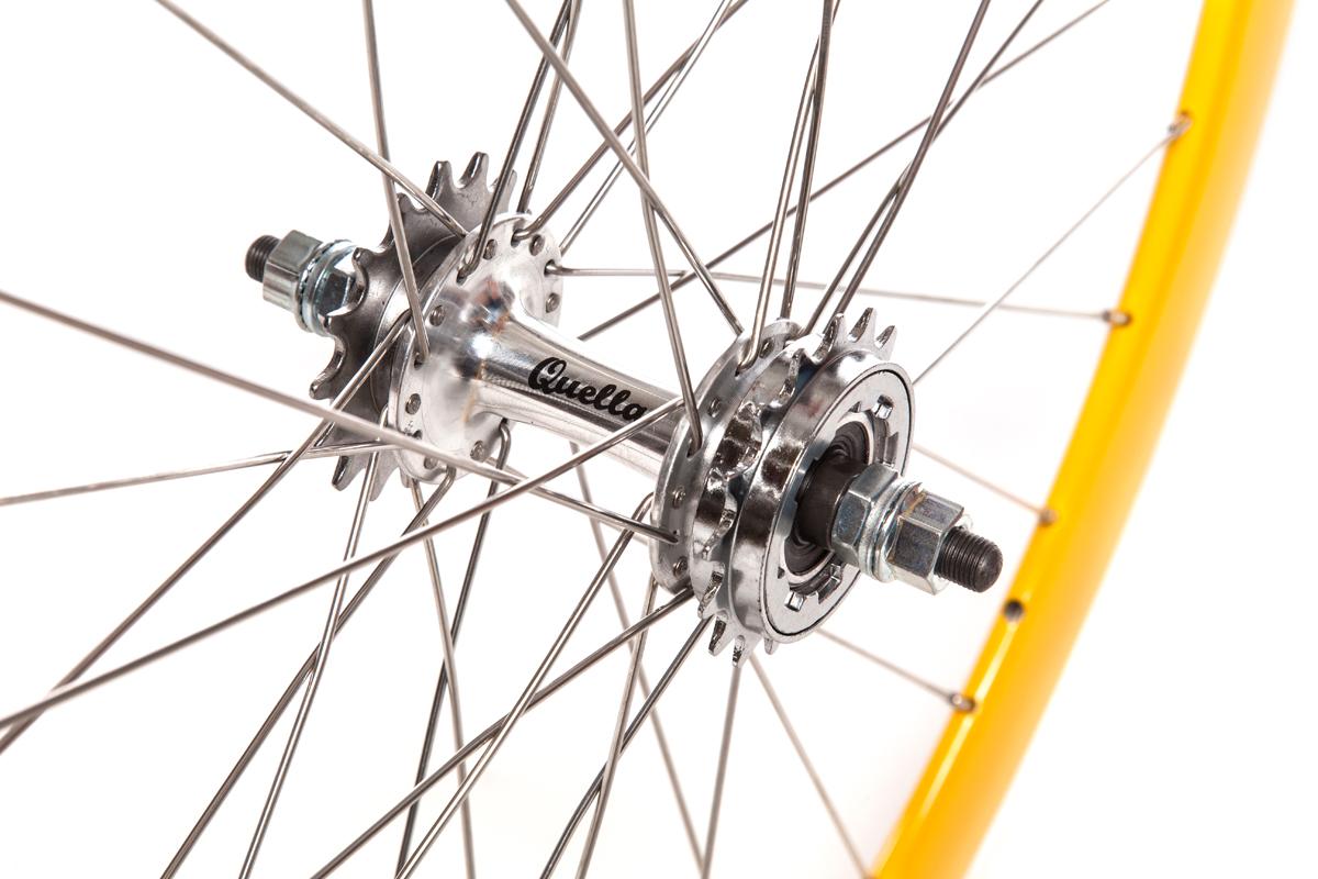Yellow Wheelset
