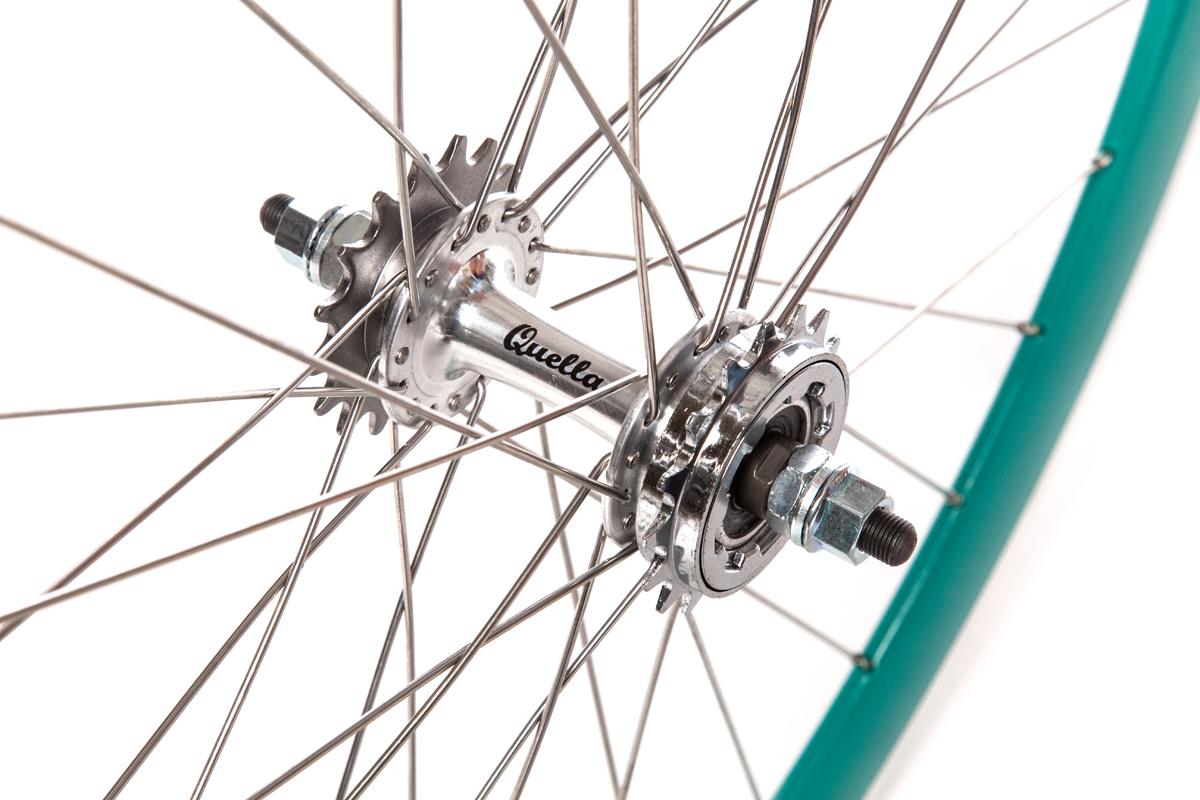 Turquoise Wheelset