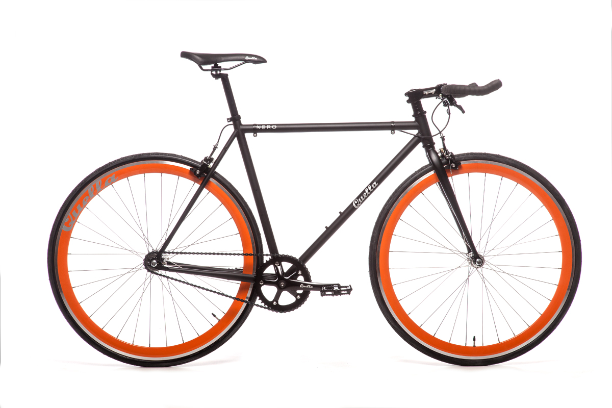Quella Nero Orange Bicycle