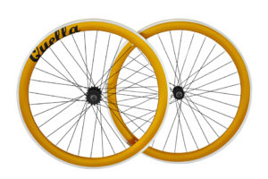 Gold 40mm Deep-V Wheelset