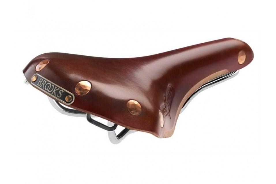 Brooks England Swift Chrome Saddle