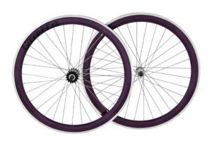 Purple 40mm Deep-V Wheelset