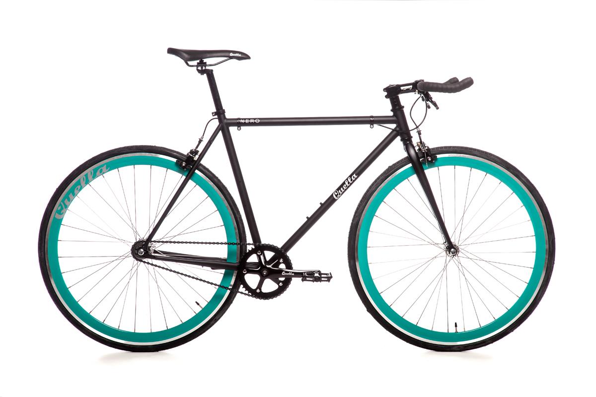 Quella Nero Turquoise Bicycle