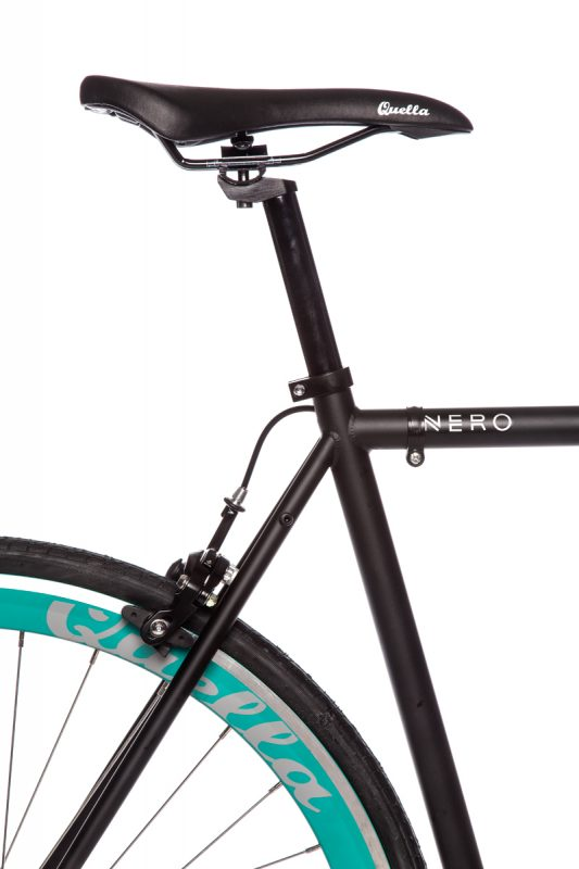 Nero with Turquoise Wheelset