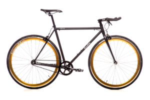 Quella Nero Gold Bicycle