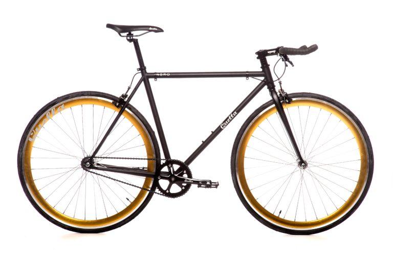 Quella Nero Gold Bicycle