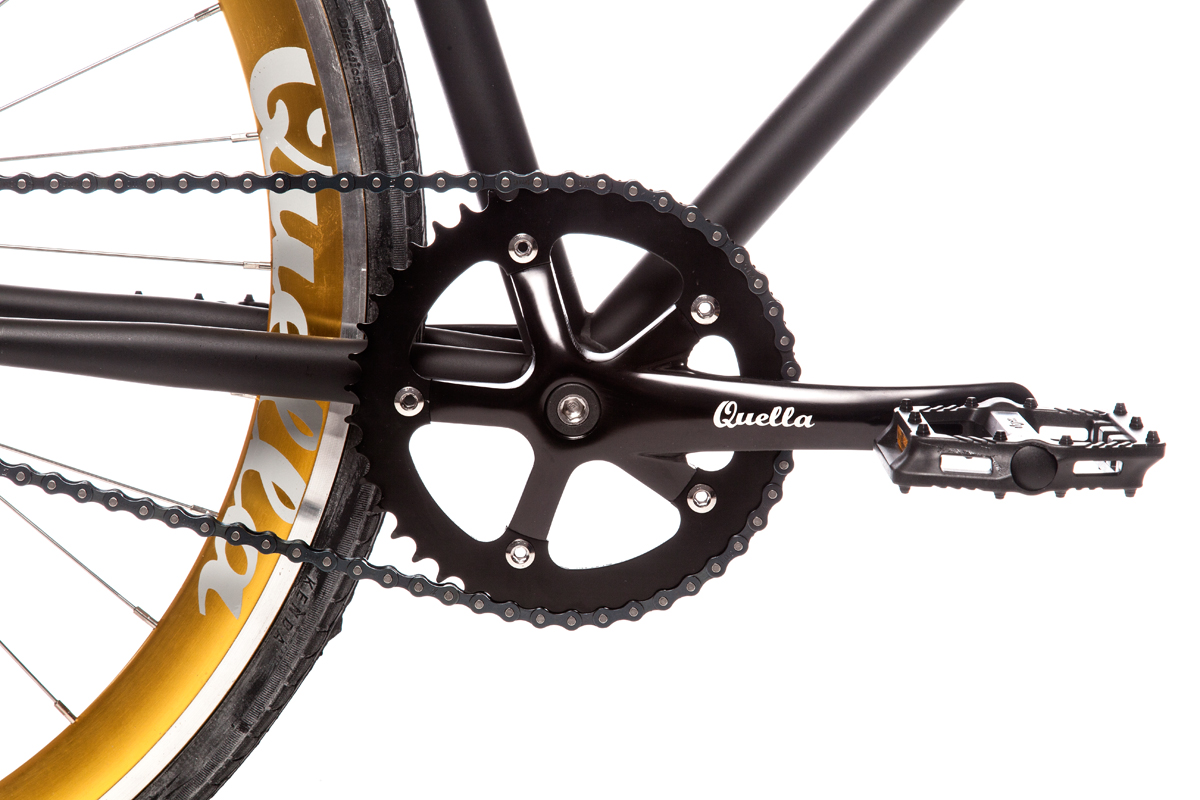Nero with Gold Wheelset