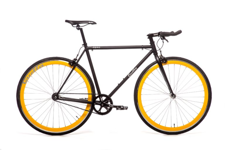 Quella Nero Yellow Bicycle