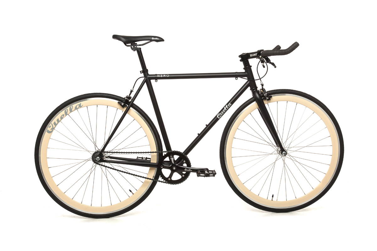 Quella Nero Cream Bicycle