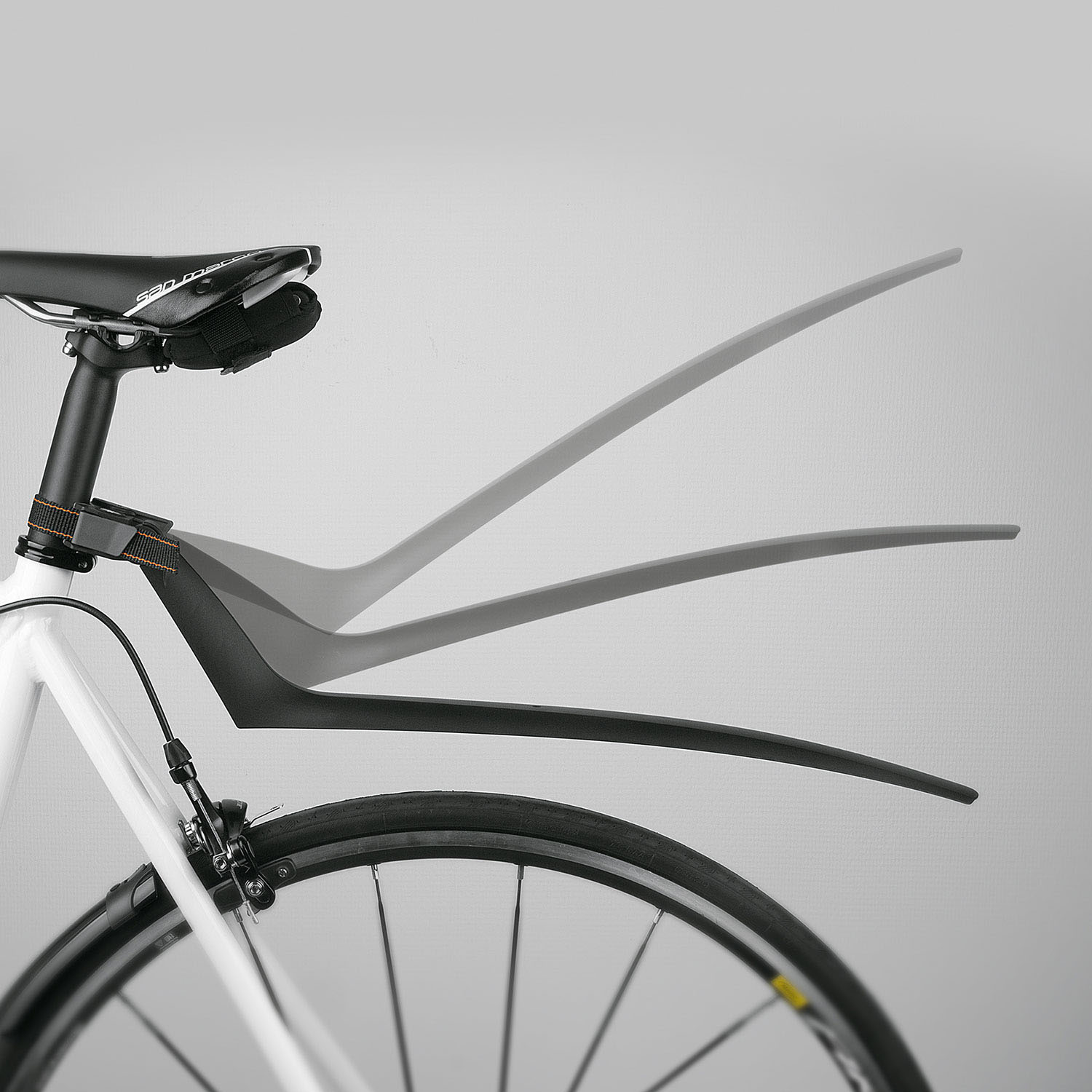 SKS S-Blade Quick Release Fixed Mudguard 4