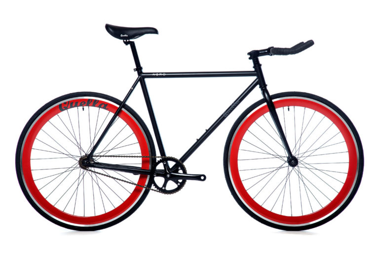 Quella Red Nero Bicycle