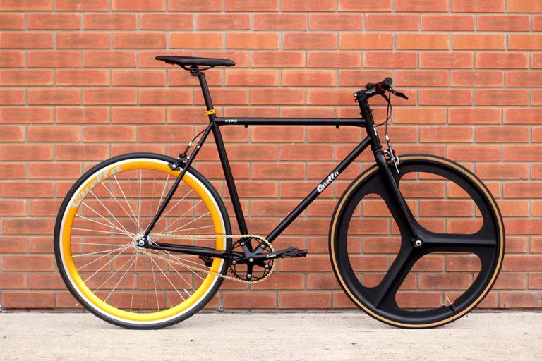Quella Nero Gold 58 with Mag wheel