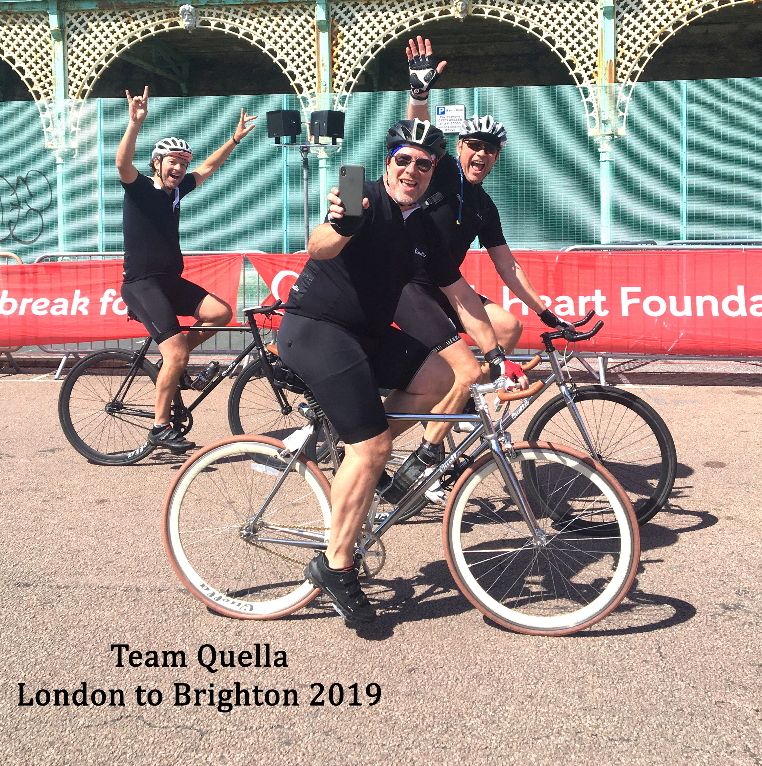 Quella Single speed - London to Brighton 2019