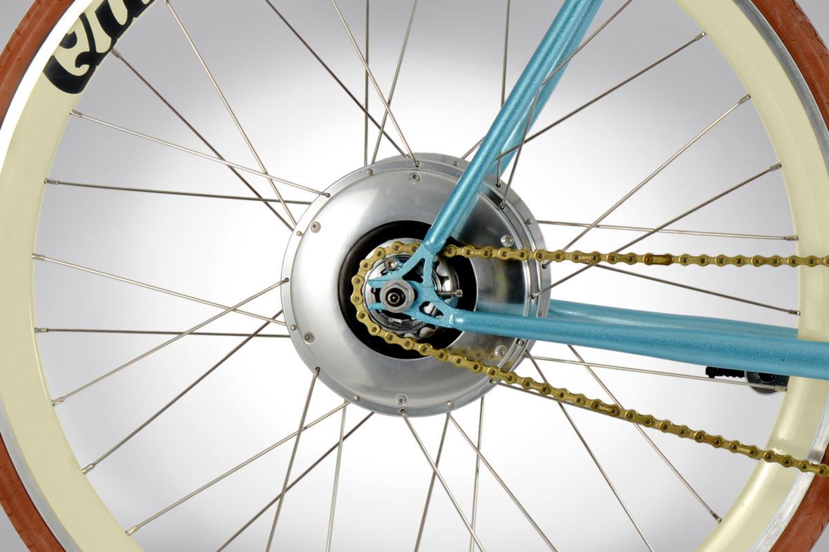Quella Cambridge Electric single speed bicycle