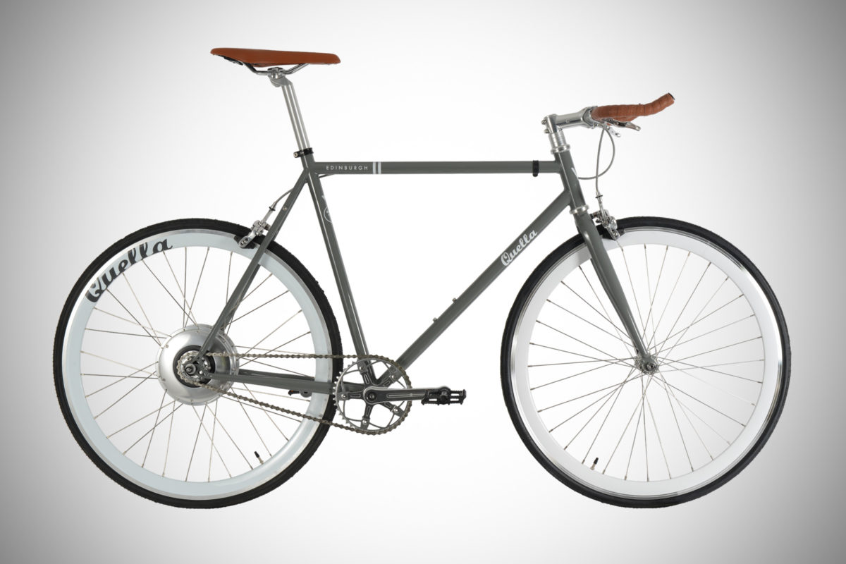 Quella Edinburgh Electric single speed bicycle