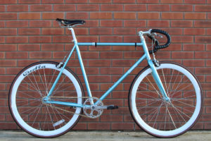 Single speed Quella bicycle