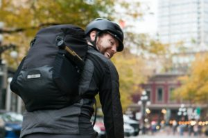 Commute Bike Backpack black