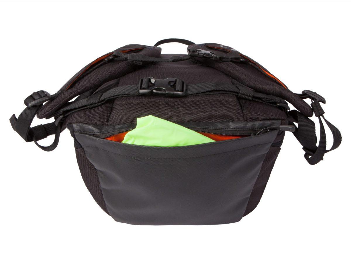 Two Wheel Gear – Commute Backpack – Black – Rain Cover Pocket