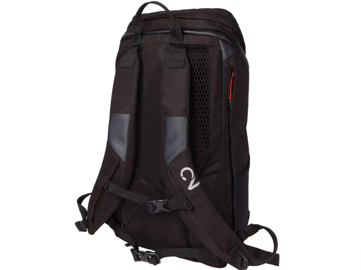 Two Wheel Gear – Commute Backpack-Black-back-closed