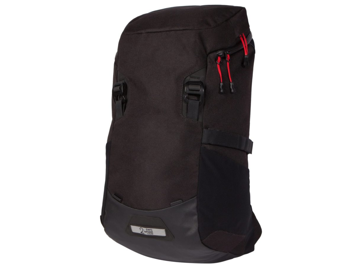 Two Wheel Gear – Commute Backpack-Black-front-closed