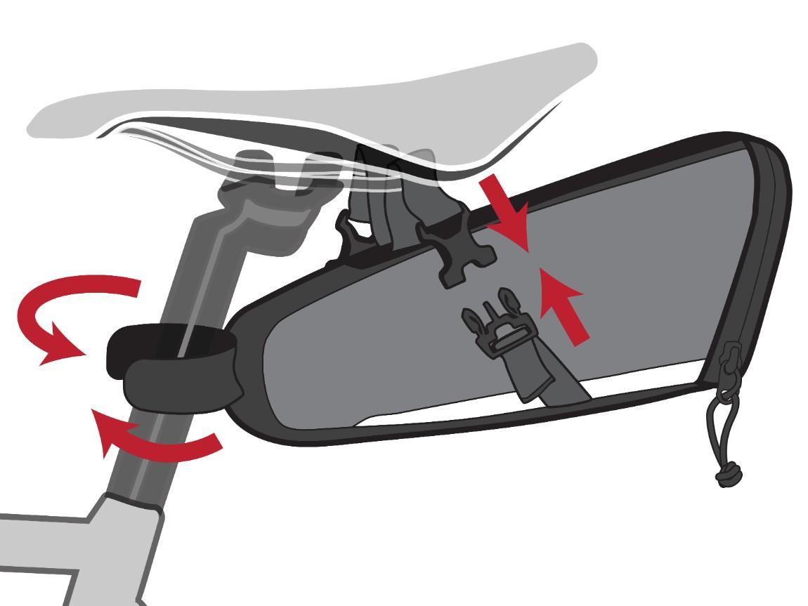 Two Wheel Gear – Commute Seat Pack – Instructions