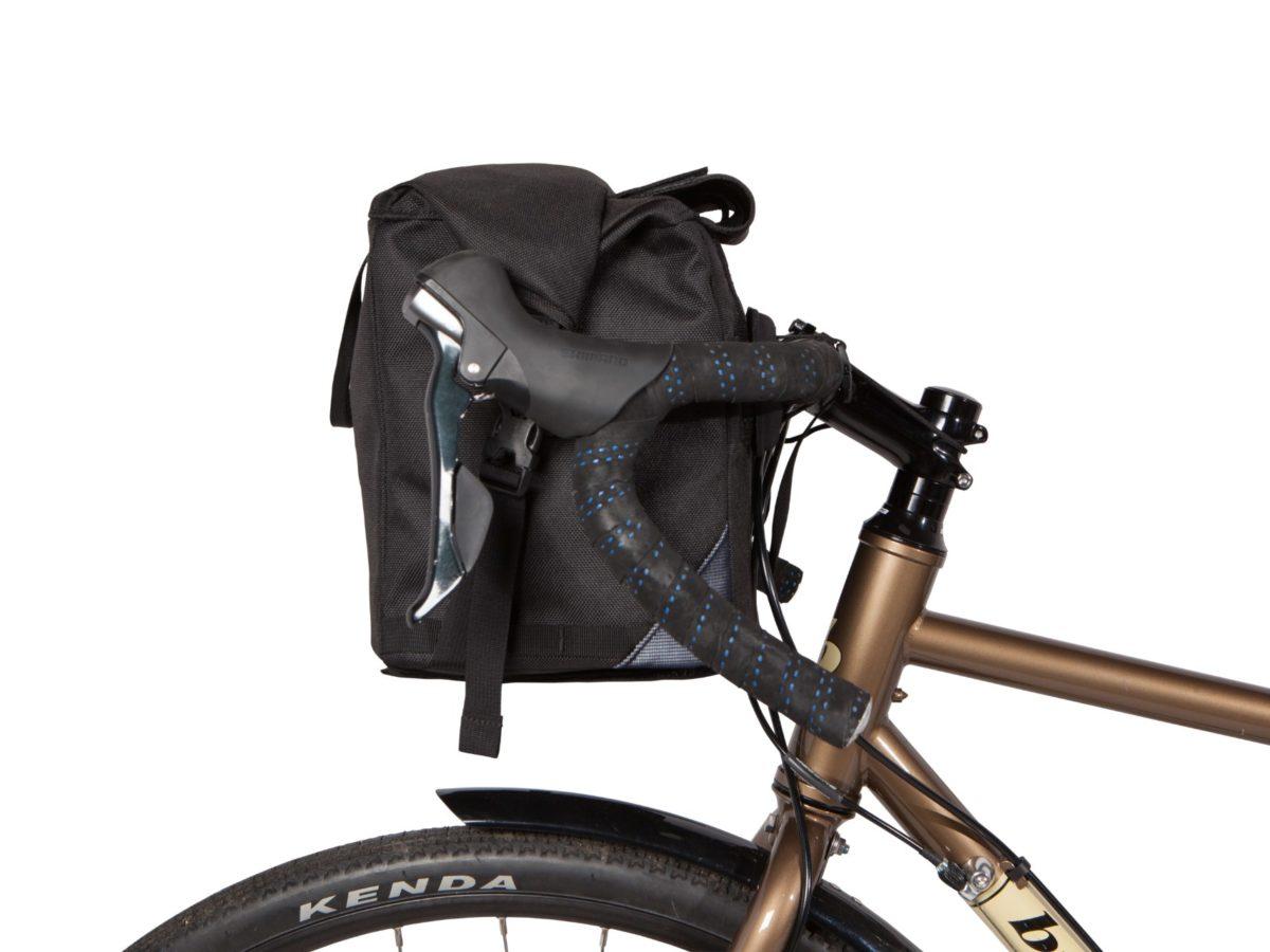 Two Wheel Gear – Dayliner Box Bag – Black – Front Handlebar Mount