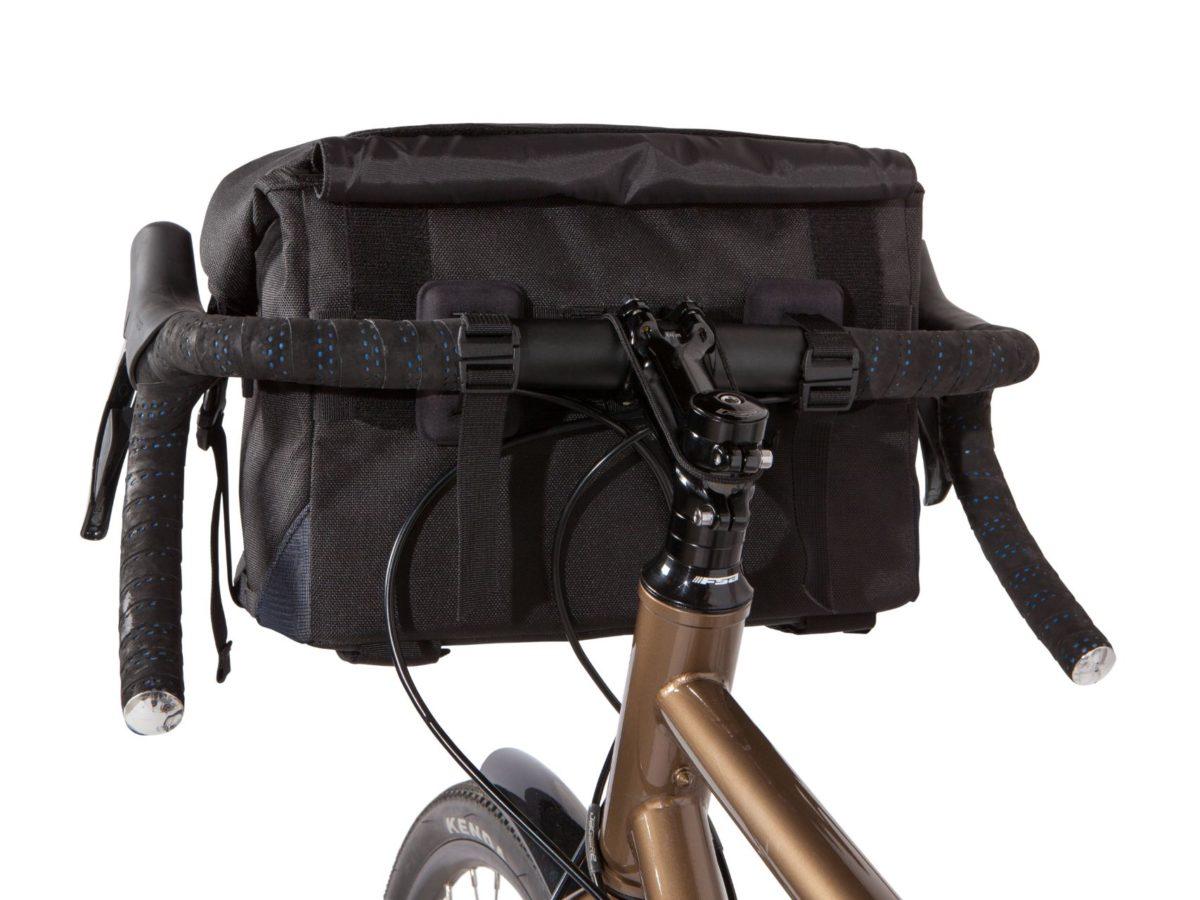 Two Wheel Gear – Dayliner Box Bag – Black – Handlebar Mounting