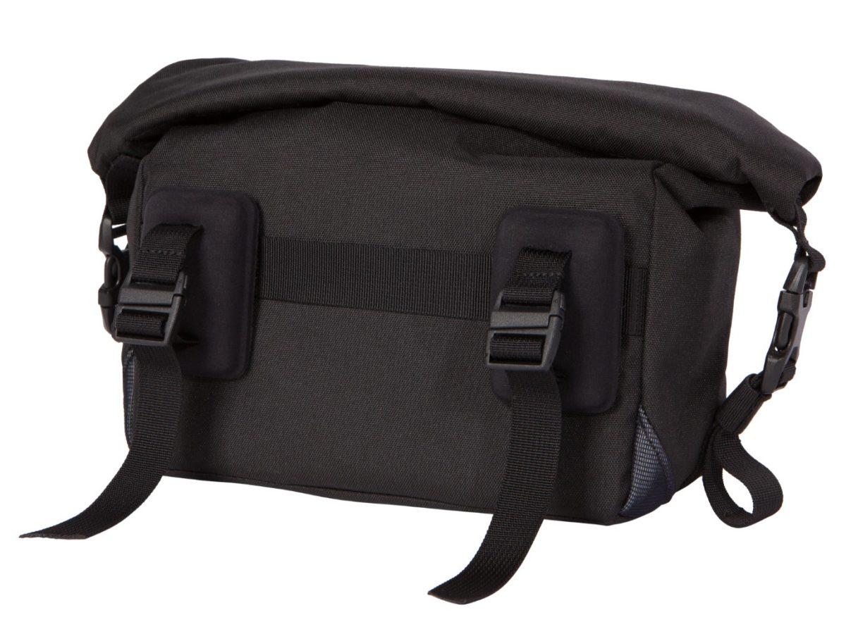 Two Wheel Gear – Dayliner Mini Handlebar Bag – Black – Handlebar Mounting System