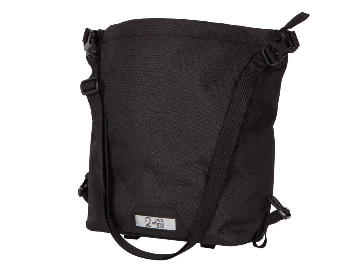 Two Wheel Gear – Dayliner Mini Handlebar Bag – Black-front-open