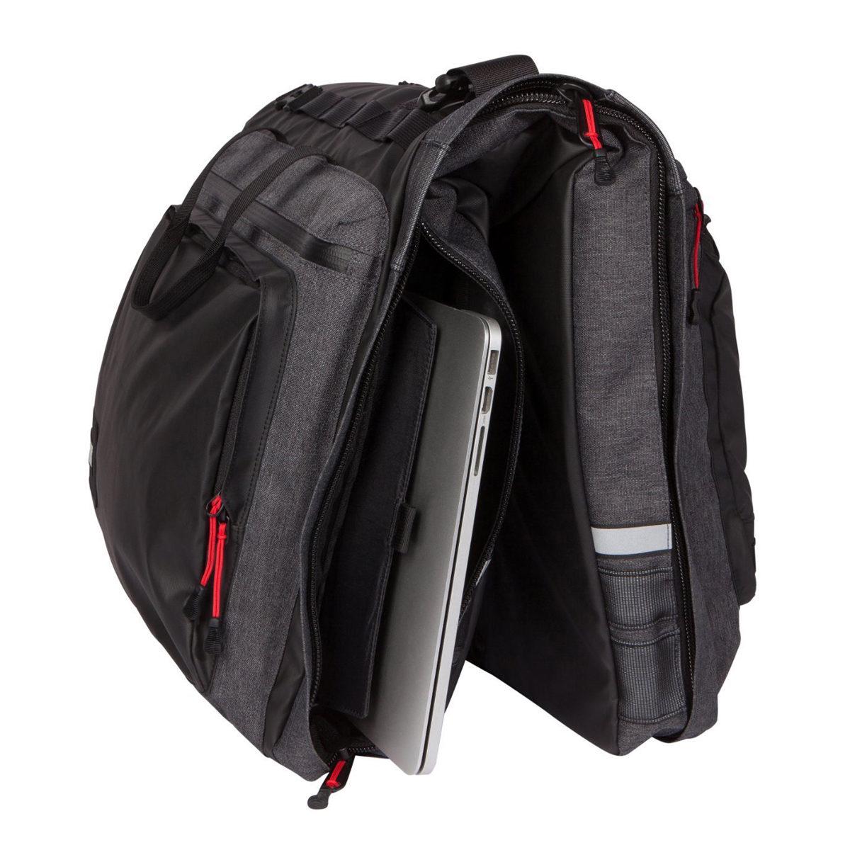 Classic 3.0 Garment Pannier – Graphite Grey 1